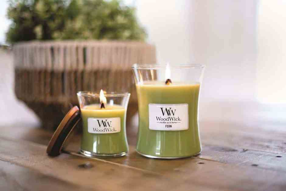 Woodwick candles available at Sugared Pear Boutique in Pearland