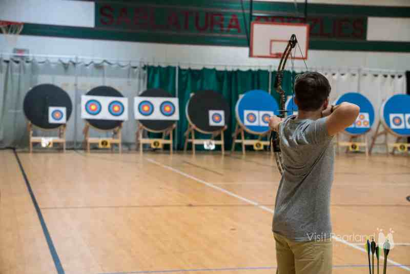 Winter Games of Texas in Pearland - Archery