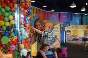 Children's museum baby day
