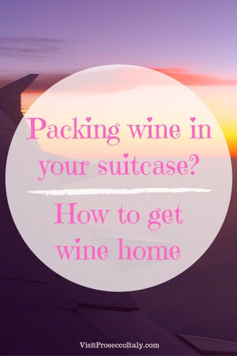 Flying with wine? Tips on how to get your wine home from shipping companies to totes to protective sleeves to special wine luggage.