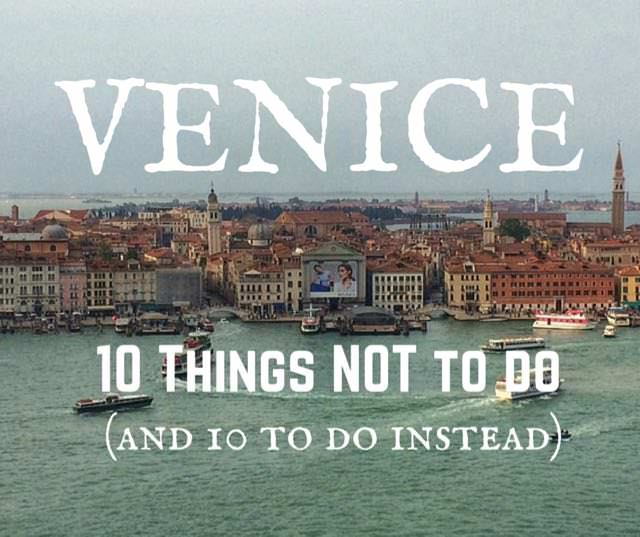 Alternative venice things to do in venice