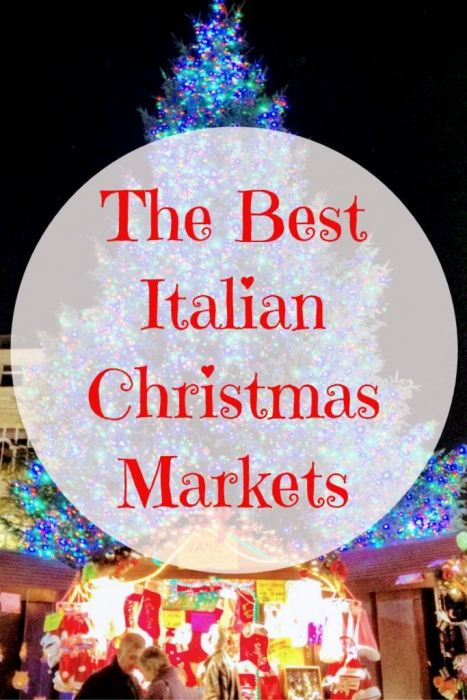 Italian Christmas Markets to visit in 2018. A round up of the best Christmas Markets in Italy with some ideally located for your Christmas Prosecco buying.