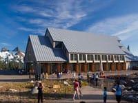 New Visitor Center at Paradise © Chris Watkins