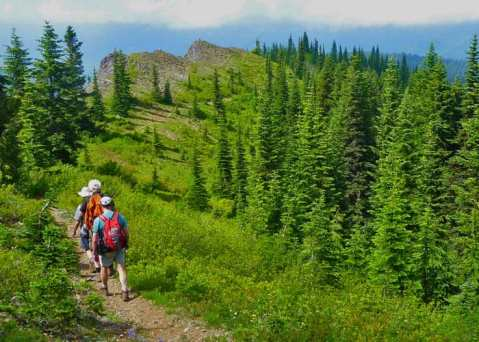Hikers-heading-back-from-Noble-Knob