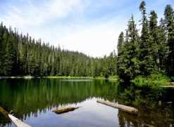 Greenwood Lake set among ancient trees. © Craig Romano