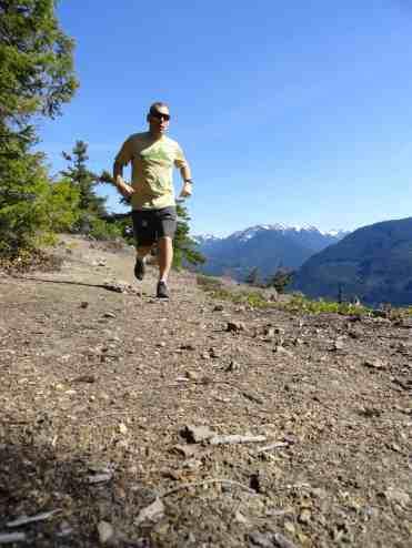 Running along the Palisades © Craig Romano