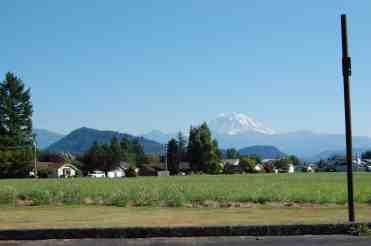 View of Mt. Rainier from Enumclaw © Heather Larson