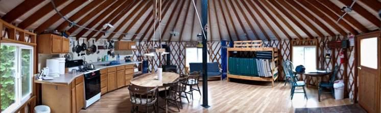 MTTA Yurt © Ed Book Photo