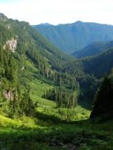 Ipsut Creek Valley from Ipsut Pass © Craig Romano
