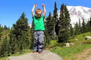 Having Fun on the Alta Vista Trail © Carrie Uffindell
