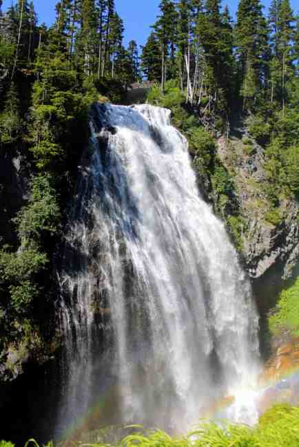 View of Narada Falls © Carrie Uffindell