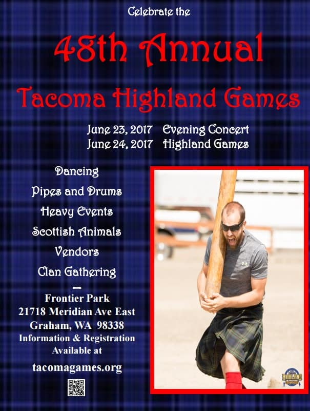 48th annual tacoma highland games