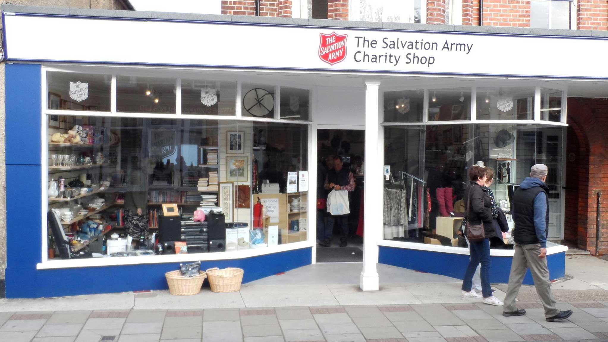 salvation army charity shop visit sheringham rh visitsheringham co uk