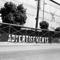 Advertisement Mural - Harrison detail