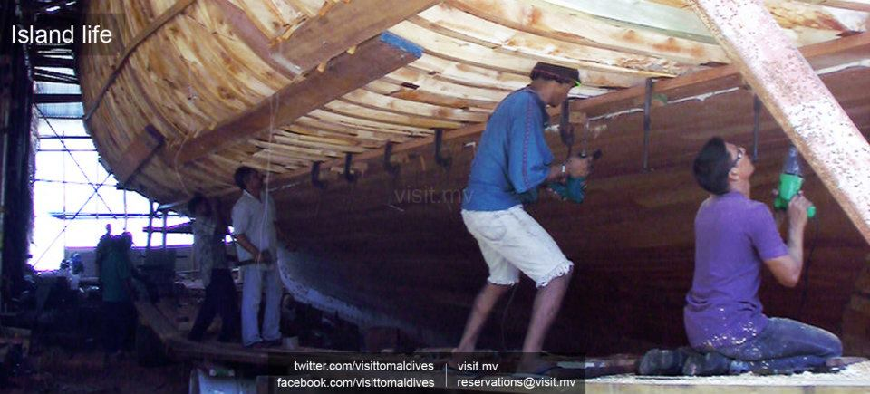 Traditional Method Of Boat Building In Maldives Visit To