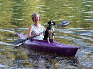 Happy Kayaking:Ruth Lake