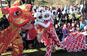 Chinese New Year Celebration at the Joss House