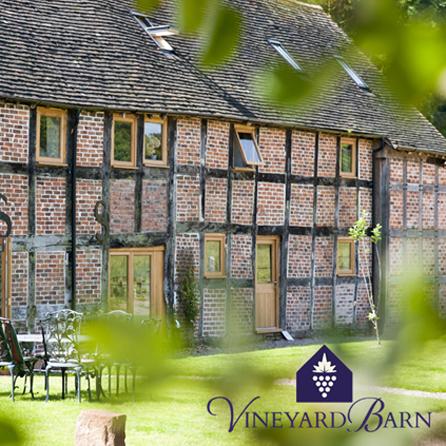 Vineyard barn Holiday let
