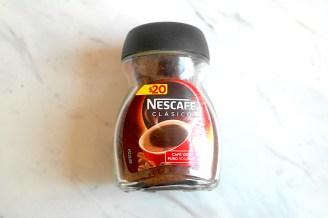 Una cucharada de Nescafé Clásico