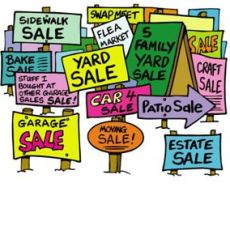 Warrens Community Garage Sale April 27-29