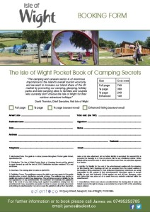 camping & caravan booking form image