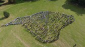 Isle of Wight Created by the children of all four East Cowes Schools - captured by Darren Vaughan Wight Drone