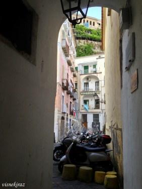 Amalfi sokakları