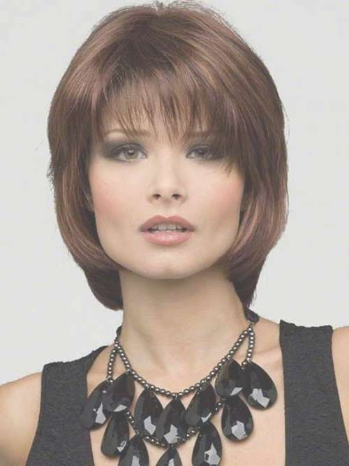 15 Best Ideas Of Shoulder Length Bob Haircuts With Bangs