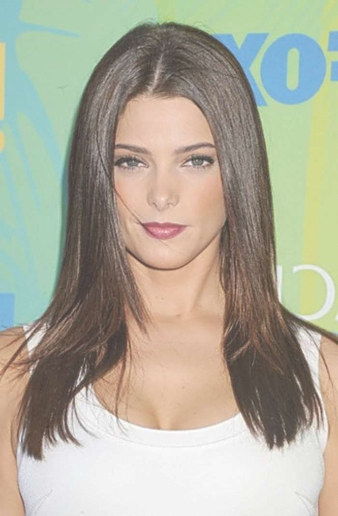 Casual Hairstyles For Medium Straight Hair Women1