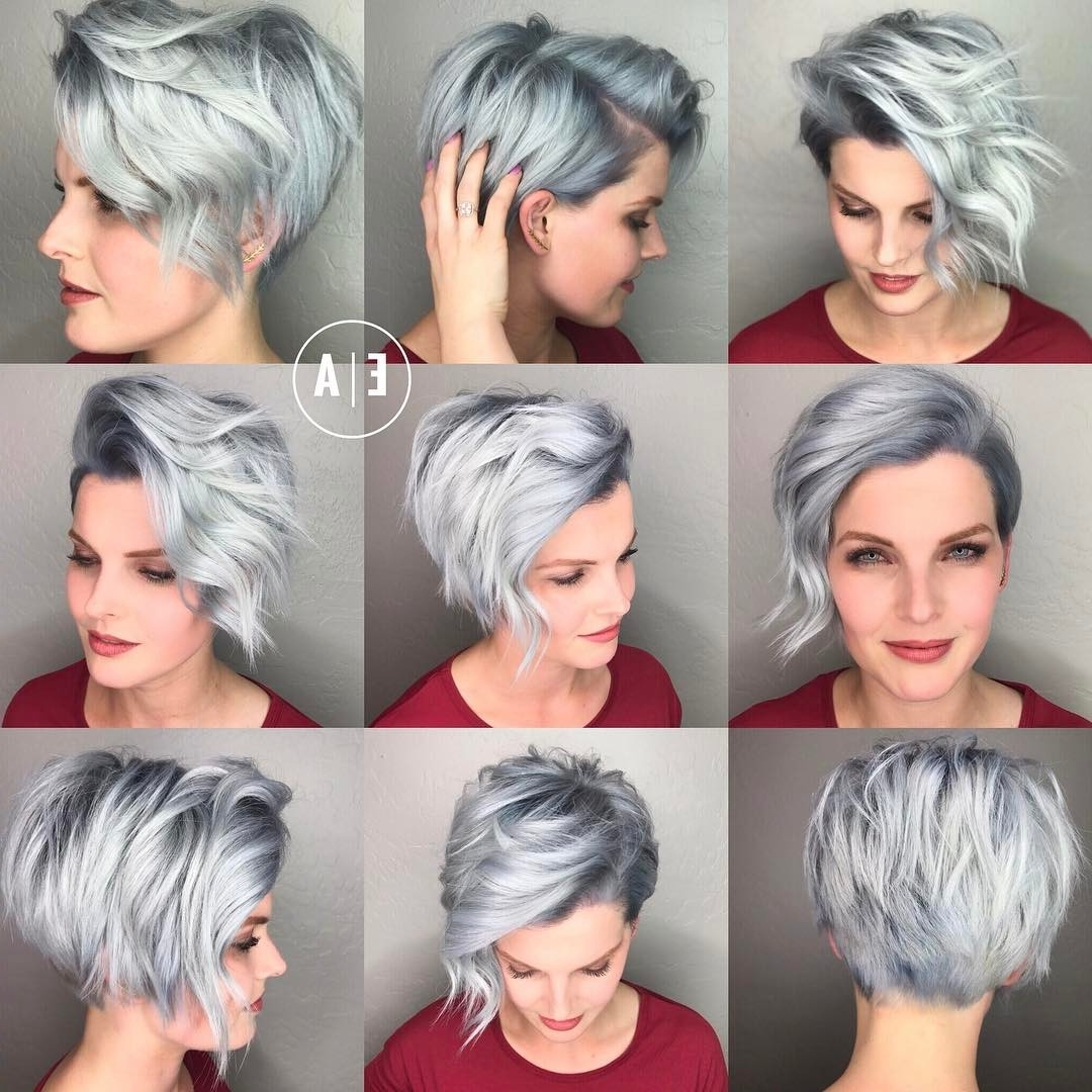 Tag Cute Pixie Cuts For Oval Faces