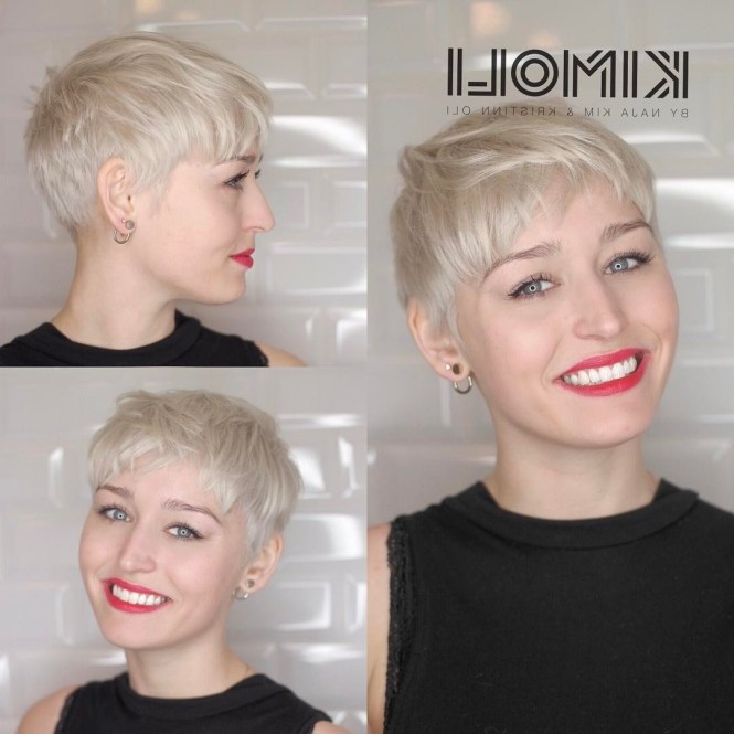40 Best Short Pixie Cut Hairstyles 2018 Cute Haircuts For Most Recent Tousled