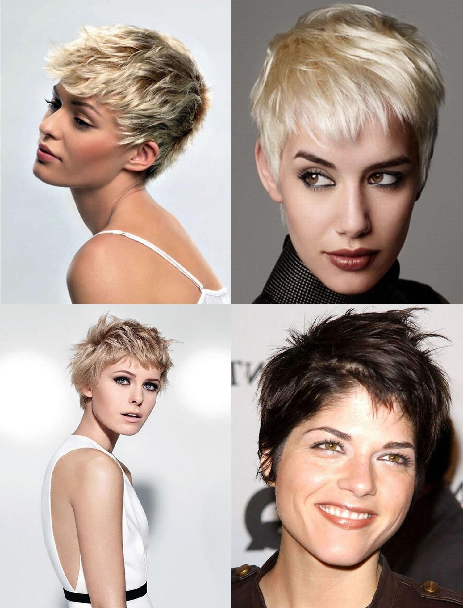 Gallery of Pixie Hairstyles For Diamond Shaped Face View 2 of 15