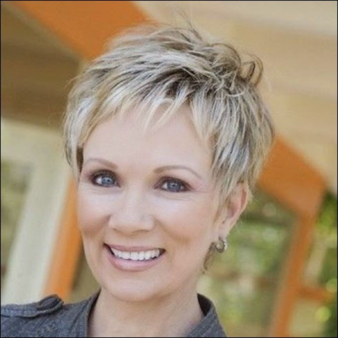 view photos of pixie hairstyles for women over 50 (showing 5 of 15