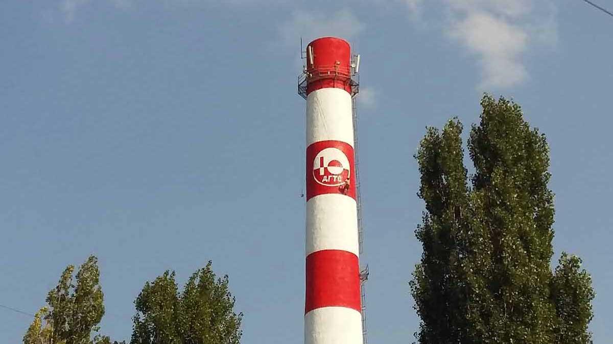 Ремонт дымовой трубы для ККП