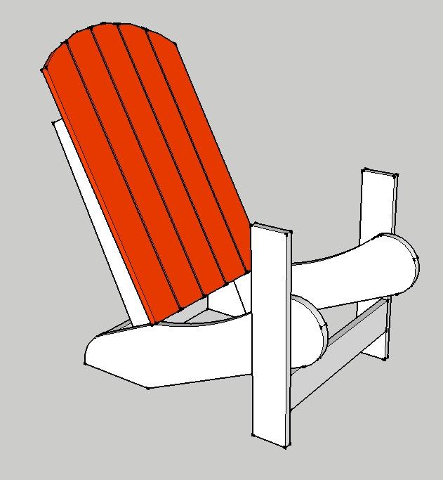 comment faire une chaise de jardin ep03