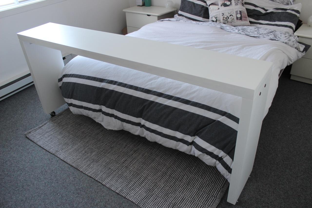comment fabriquer une table de lit