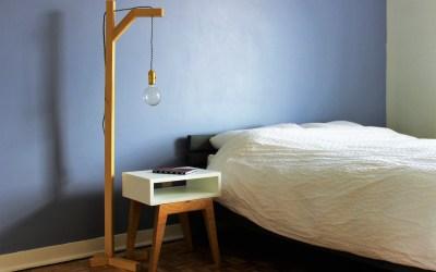 Comment fabriquer une lampe sur pied avec un liteau – EP21