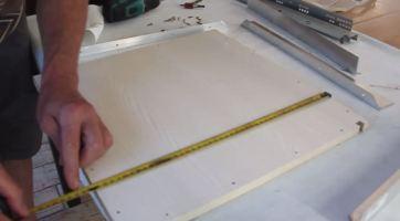 couper etagere a 2cm