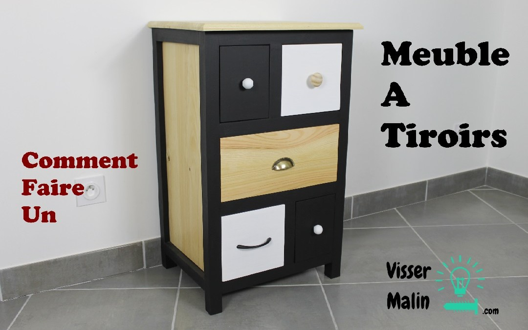 Comment fabriquer un meuble tiroirs ep32 for Bon plan meuble gratuit
