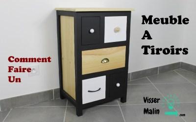 Comment fabriquer un meuble à tiroirs – EP32