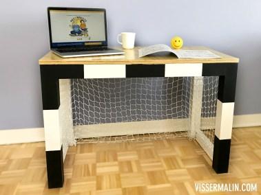 Comment faire un bureau cage de foot pour enfant