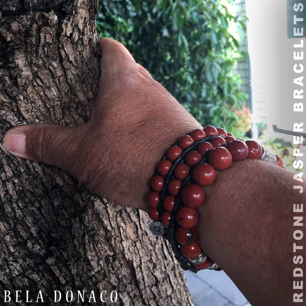 Bela Donaco Armbanden met Redstone Jasper