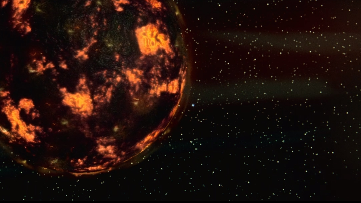 The long period planet of pure evil threatening the pale blue dot of Earth