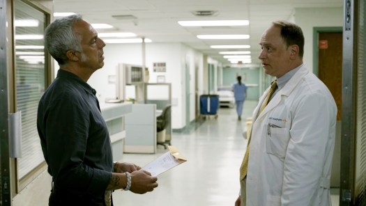 Bosch Season 6 - Bosch finds out about the patent for the Surgical Sponge. Bosch asks: What's medical physicist.