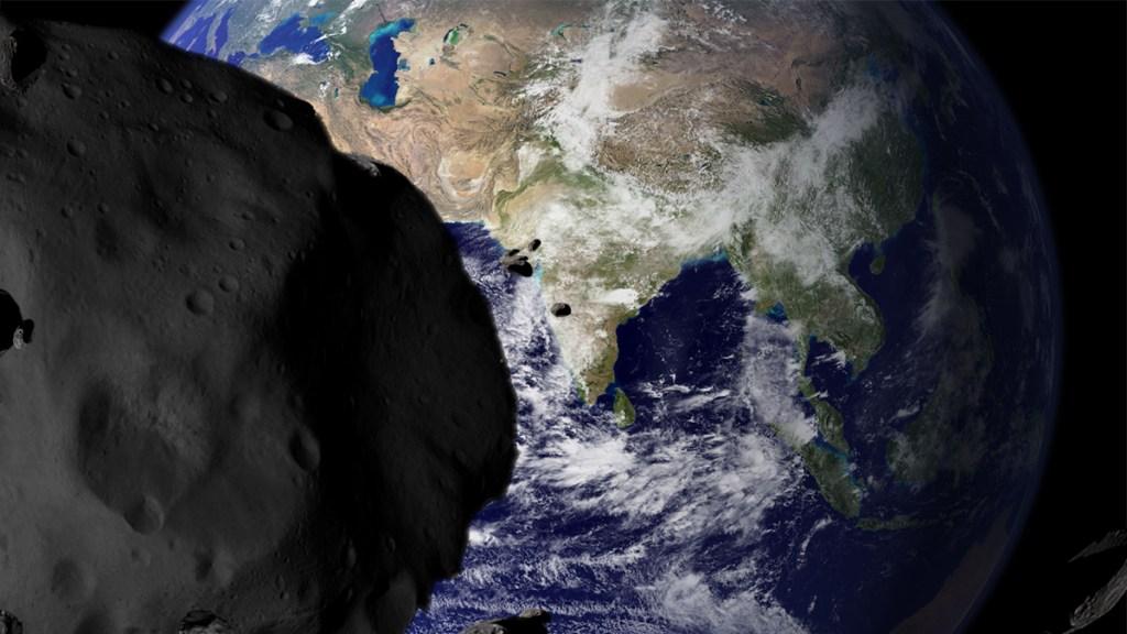 Earth-threatening asteroid