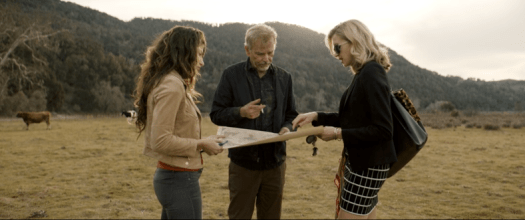 Brittany, Billy and Patty hunt for a pipeline.