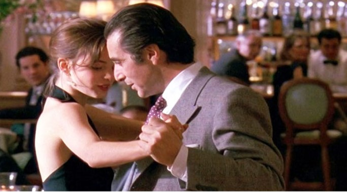 Tango scene from Scent of a Woman. In blog post about the scent of a meteorite entitled Heaven from Heaven - an essay on the smell of space, fragrance of meteorites, scent of meteors, and aroma of comets.