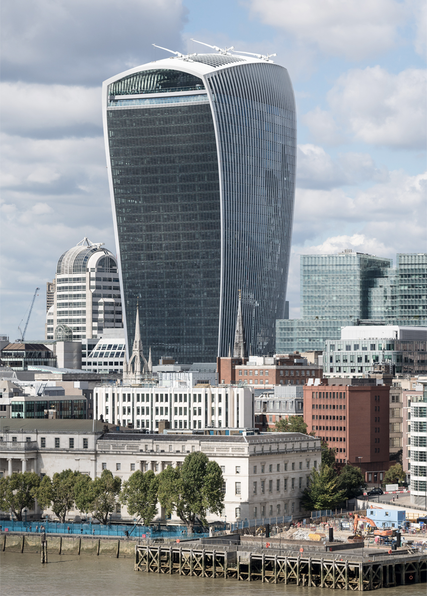 The Walkie-Talkie at 20 Fenchurch Street