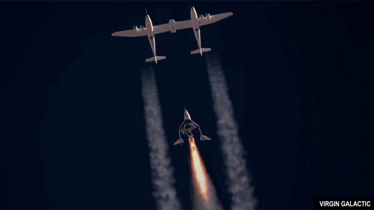 Virgin Galactic - VSS Unity 11 July 2021