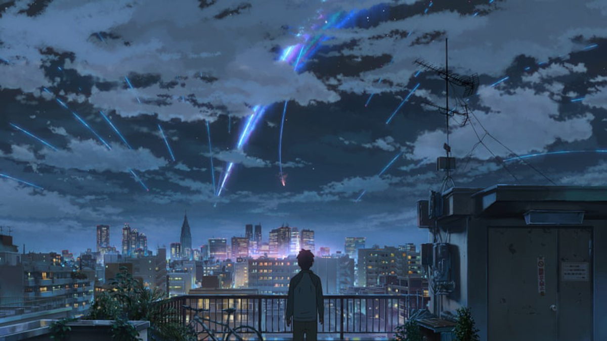 Japanese Rogue Sky Objects: Your Name (2016)